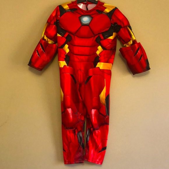 Marvel Ironman Muscle costume. NWT